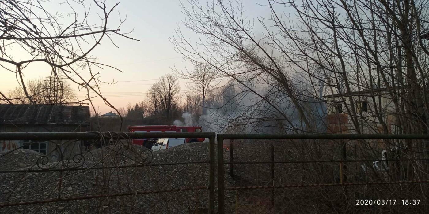 В Бориславі палає територія НГВУ «Укрнафта», фото-2