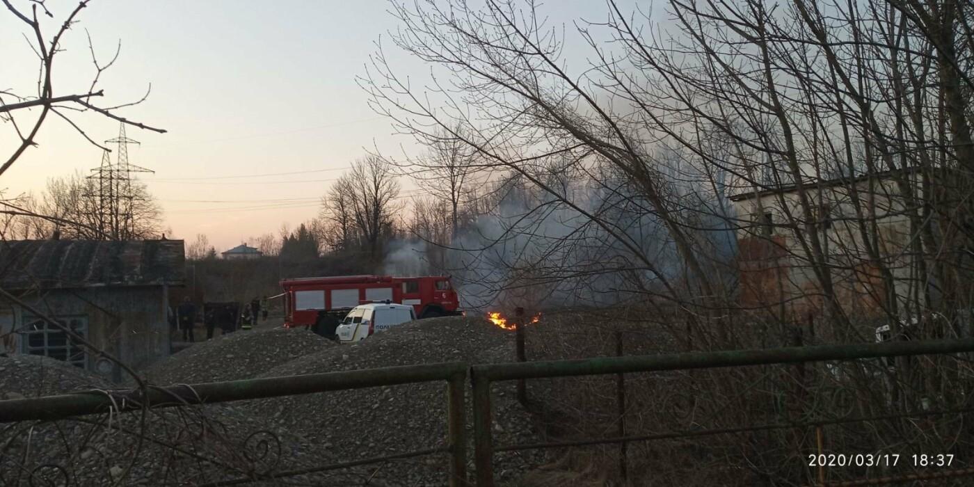 В Бориславі палає територія НГВУ «Укрнафта», фото-3