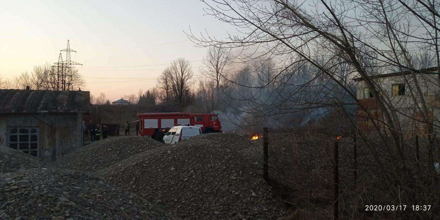 В Бориславі палає територія НГВУ «Укрнафта», фото-4