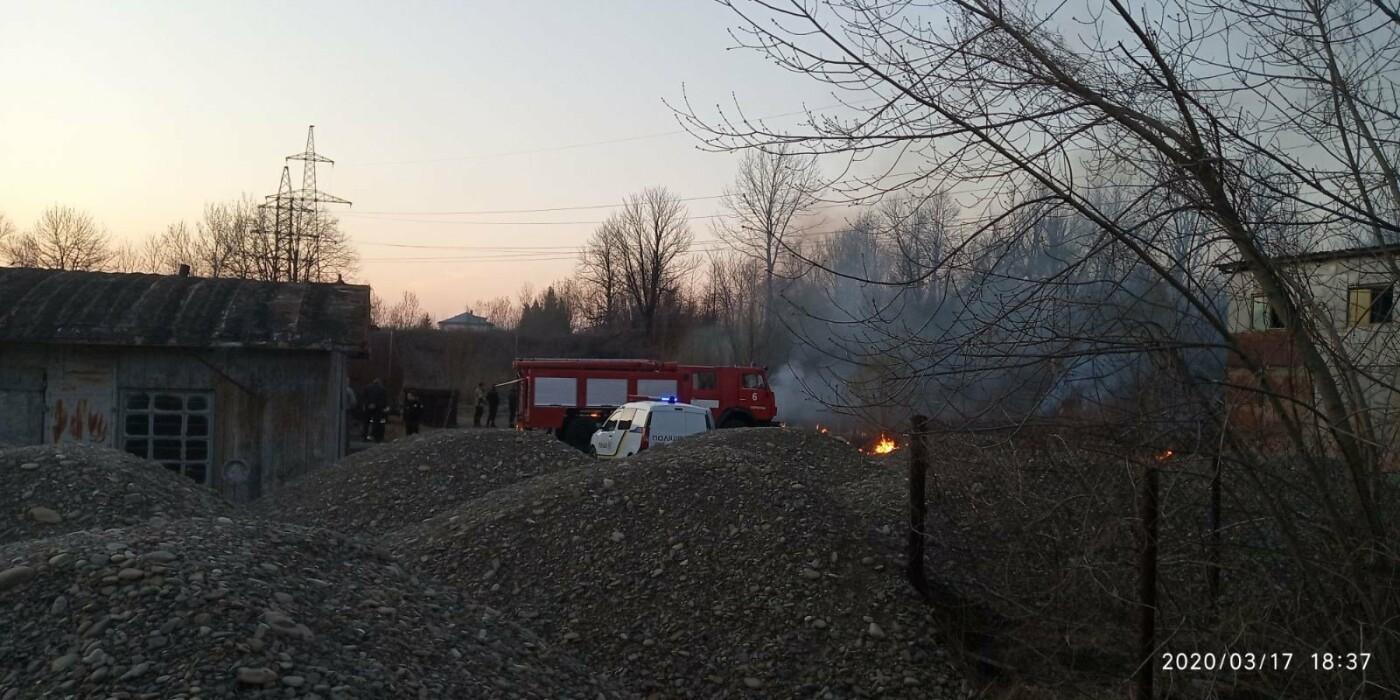 В Бориславі палає територія НГВУ «Укрнафта», фото-5