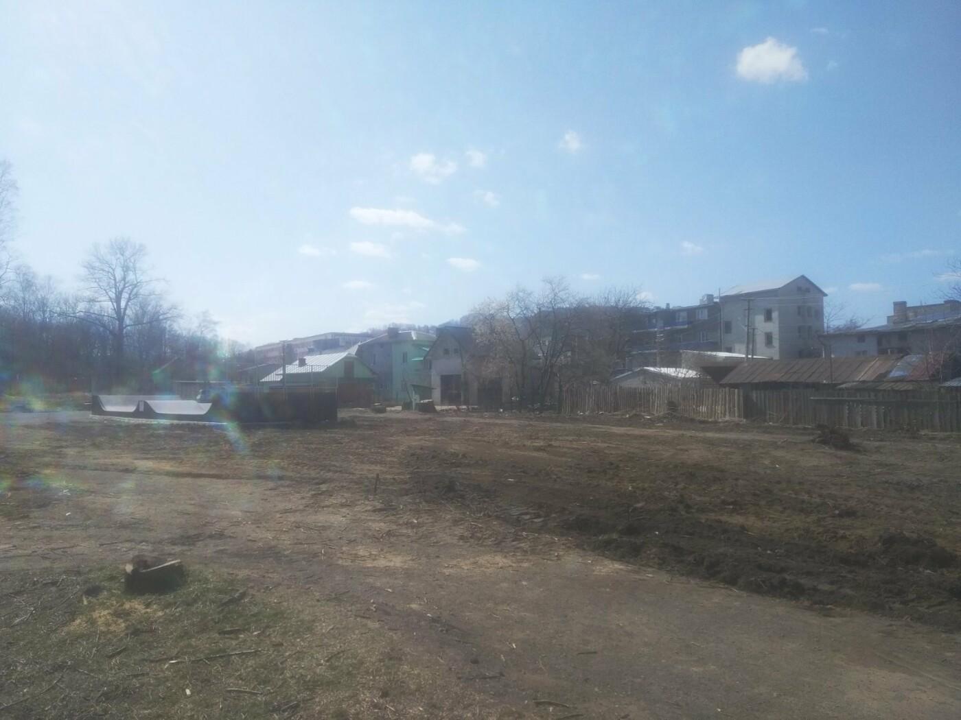 Майданчик для воркауту у Бориславі: тривають підготовчі роботи , фото-4, Фото - 03247.com.ua