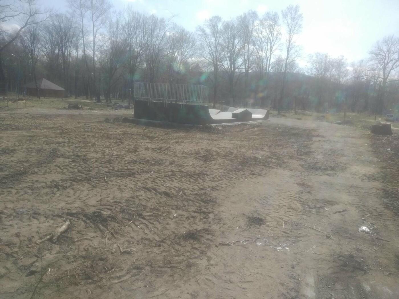 Майданчик для воркауту у Бориславі: тривають підготовчі роботи , фото-5, Фото - 03247.com.ua