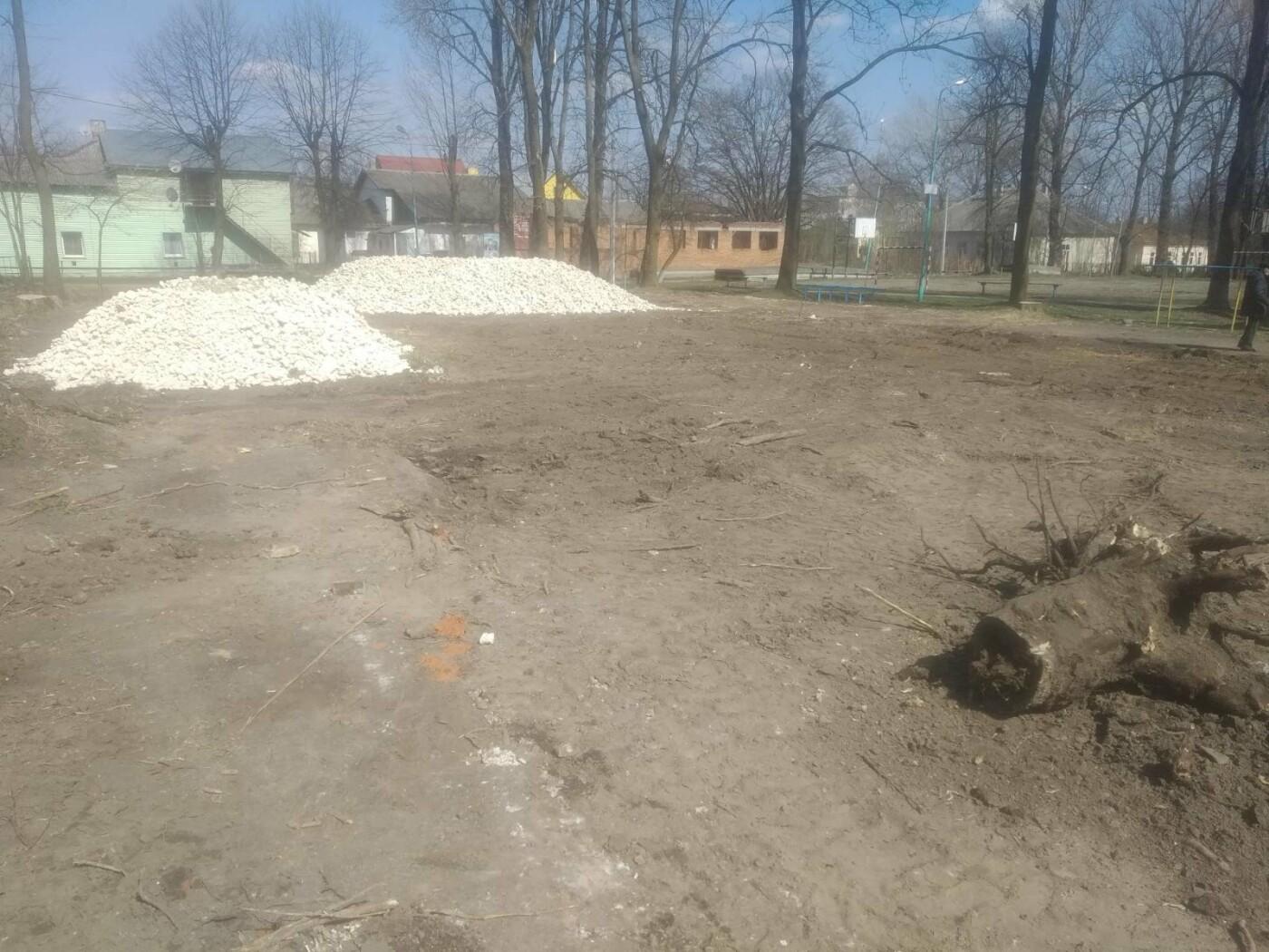 Майданчик для воркауту у Бориславі: тривають підготовчі роботи , фото-6, Фото - 03247.com.ua