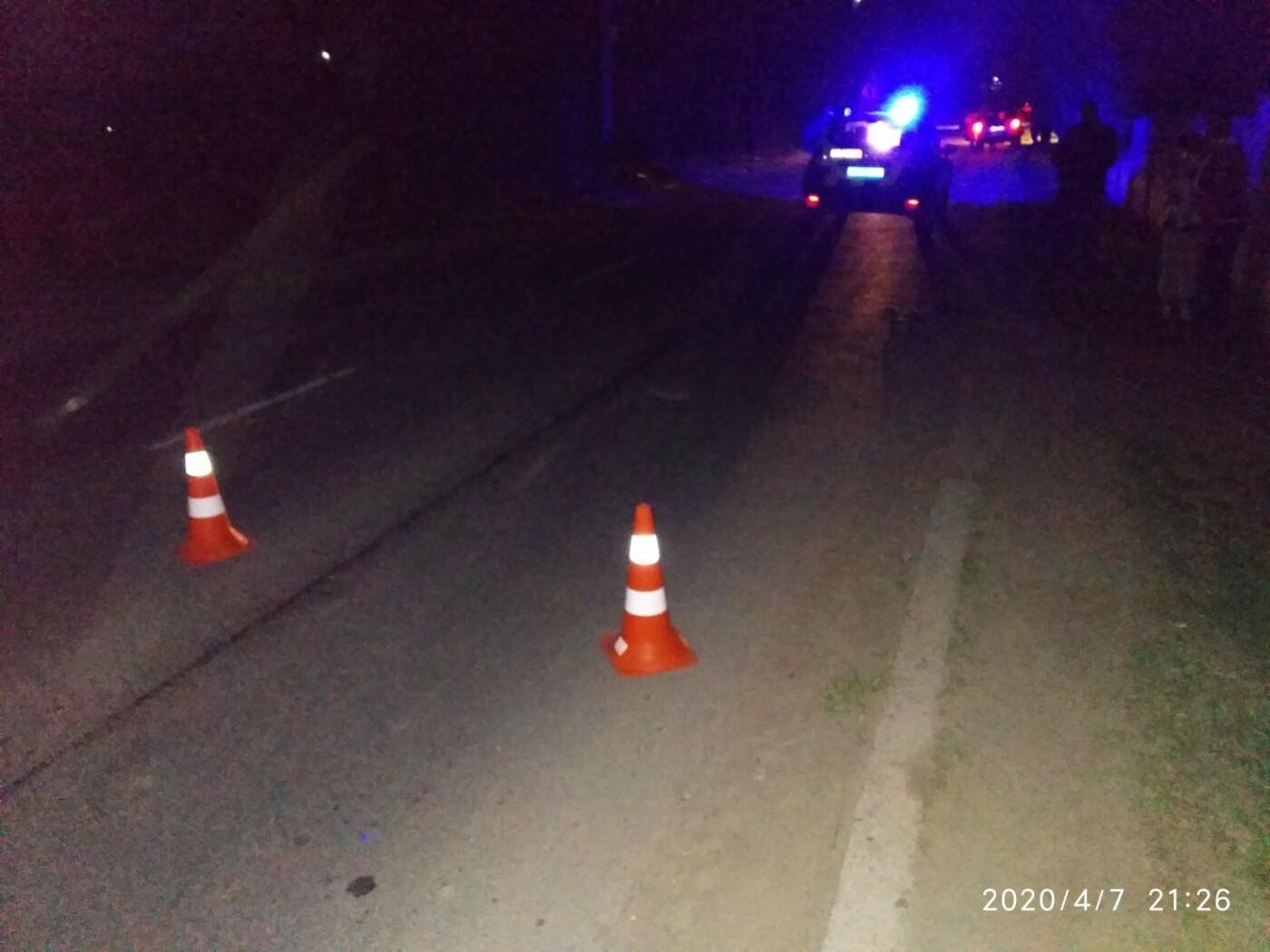 На автошляху Трускавець-Стебник ДТП - збили жінку, фото-1, Фото - 03247.com.ua