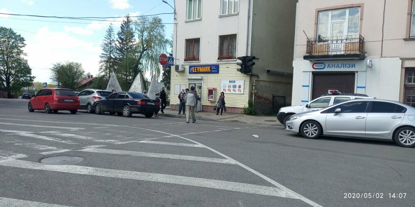 У Дрогобичі зіткнулись автівки , фото-2, фото - 03247.com.ua