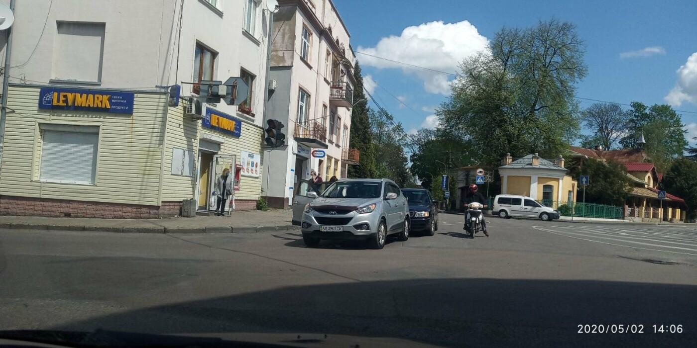 У Дрогобичі зіткнулись автівки , фото-1, фото - 03247.com.ua