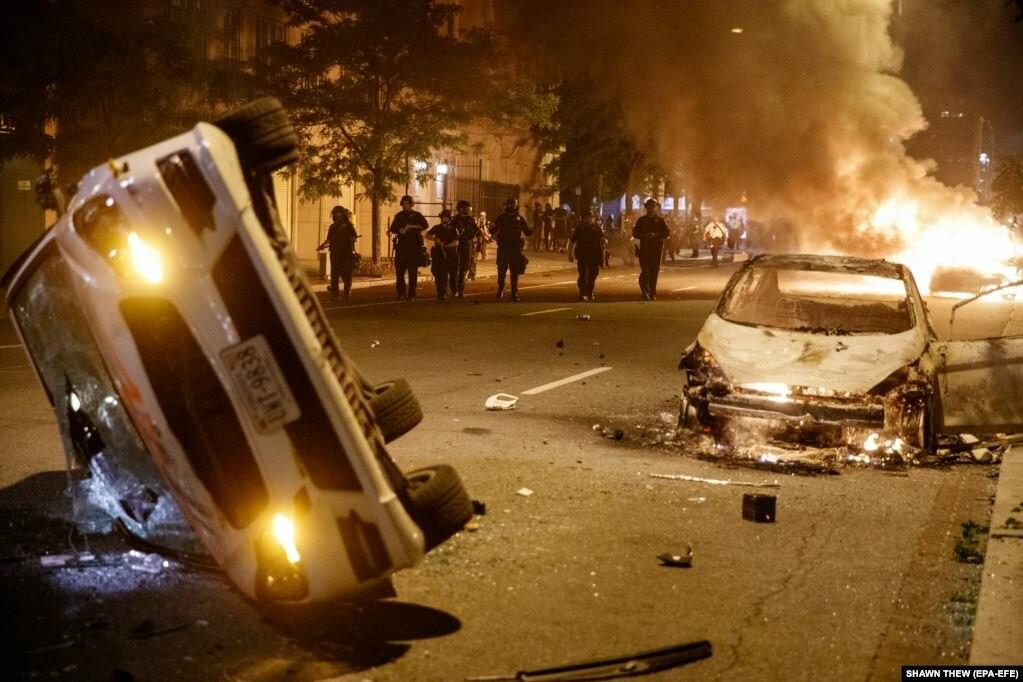 У США хвиля жорстоких протестів через смерть Джорджа Флойда (фотогалерея), фото-1