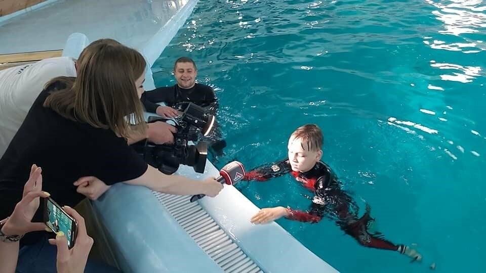 Дельфінарій «Оскар» здійснив мрію хворих діток , фото-2