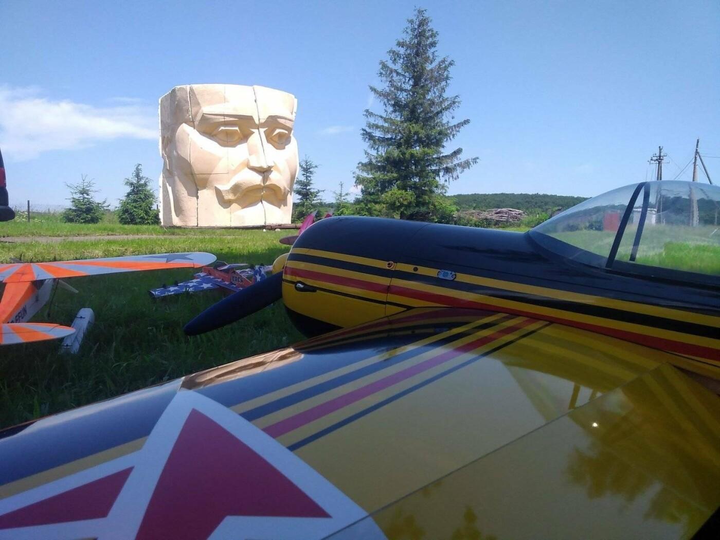 В Нагуєвичах запускають модельну авіацію, фото-5