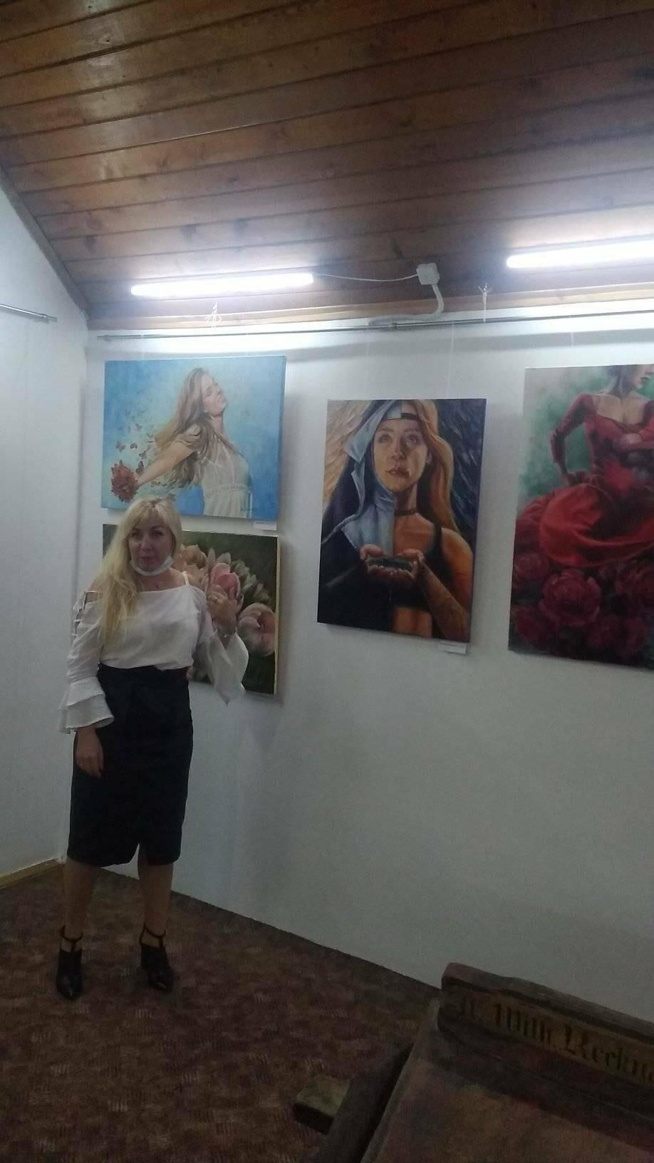 """У """"Нагуєвичах"""" відкрилась художня виставка в стилі про-арт, фото-3"""