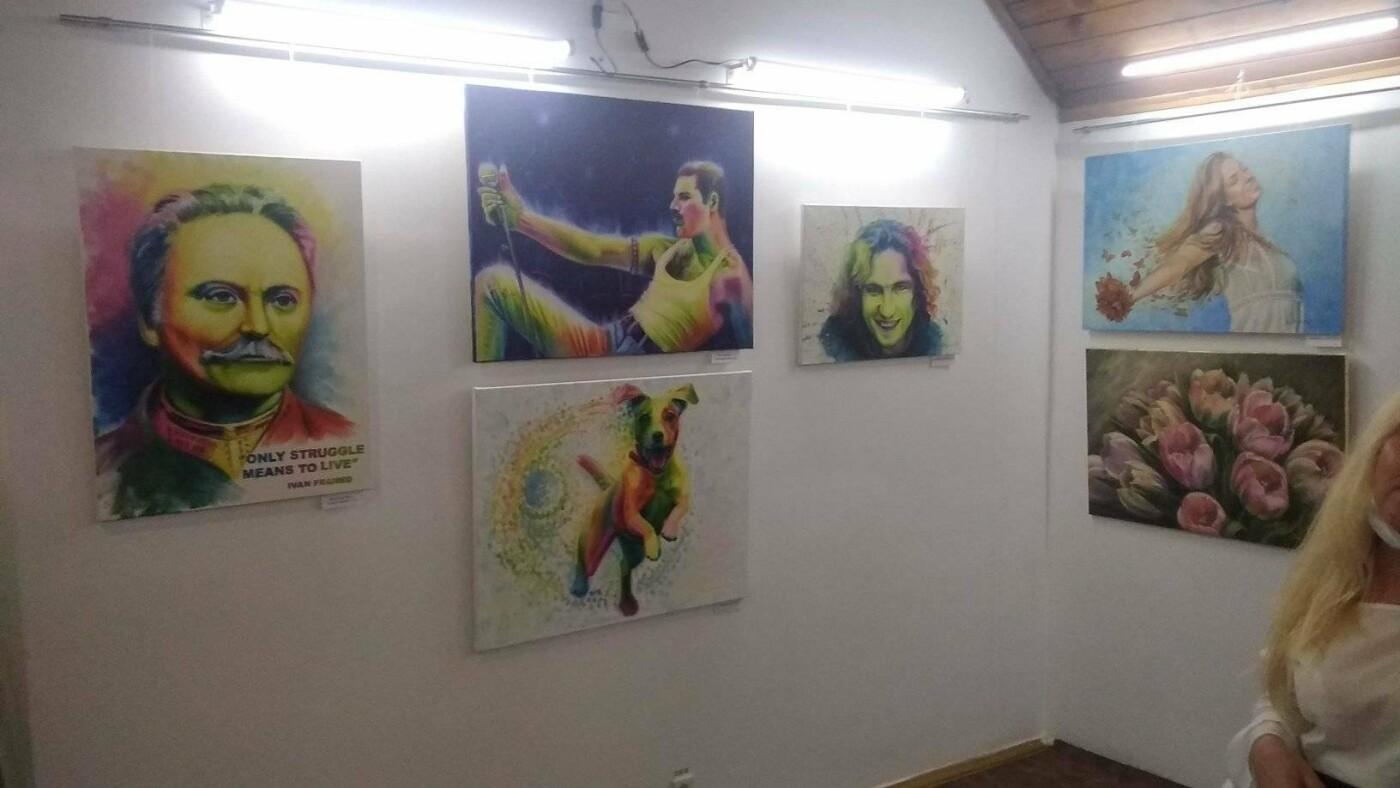 """У """"Нагуєвичах"""" відкрилась художня виставка в стилі про-арт, фото-6"""