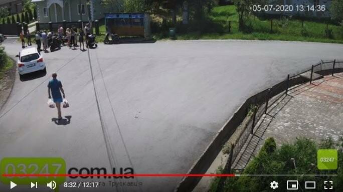 Вчора у Модричах трапилась ДТП за участі скутера та мотоцикла (Відео), фото-1