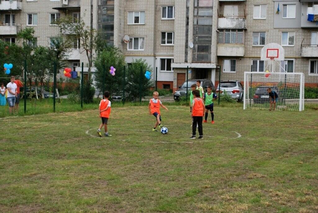 У Дрогобичі відкрили ще один спортивний майданчик, фото-3