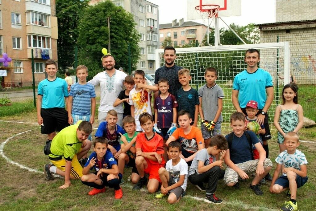 У Дрогобичі відкрили ще один спортивний майданчик, фото-1