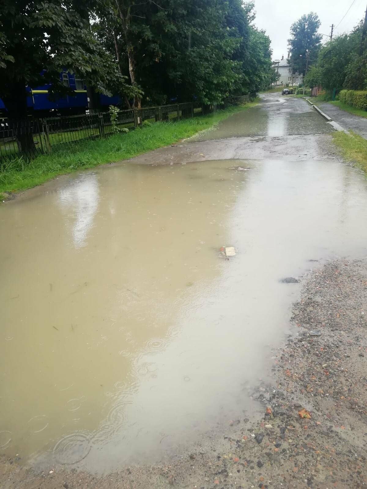 На вулиці Крушельницької прорвало водопровід (ФОТО), фото-7
