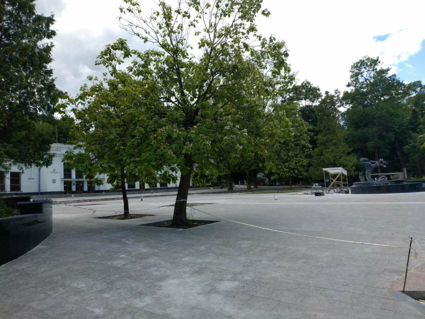 Реконструкція площі біля бювету триває (Фото), фото-1