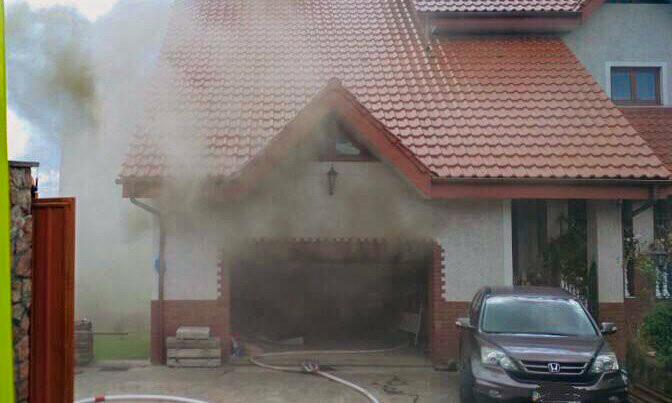 У Трускавці палав приватний житловий будинок, фото-1, Фото: Варто-Галицькі новини