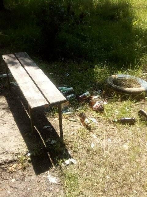 Прибирання по-стебницьки: комунальники не поспішають вивозити сміття, фото-2