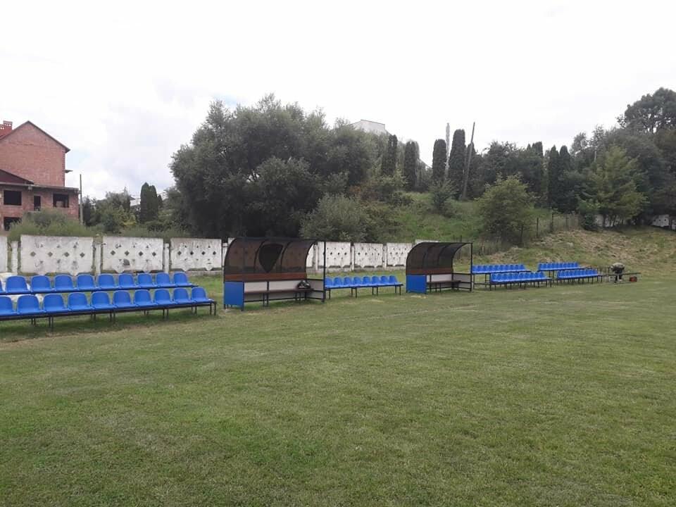 На трускавецькому стадіоні облаштовують місця для глядачів, фото-2
