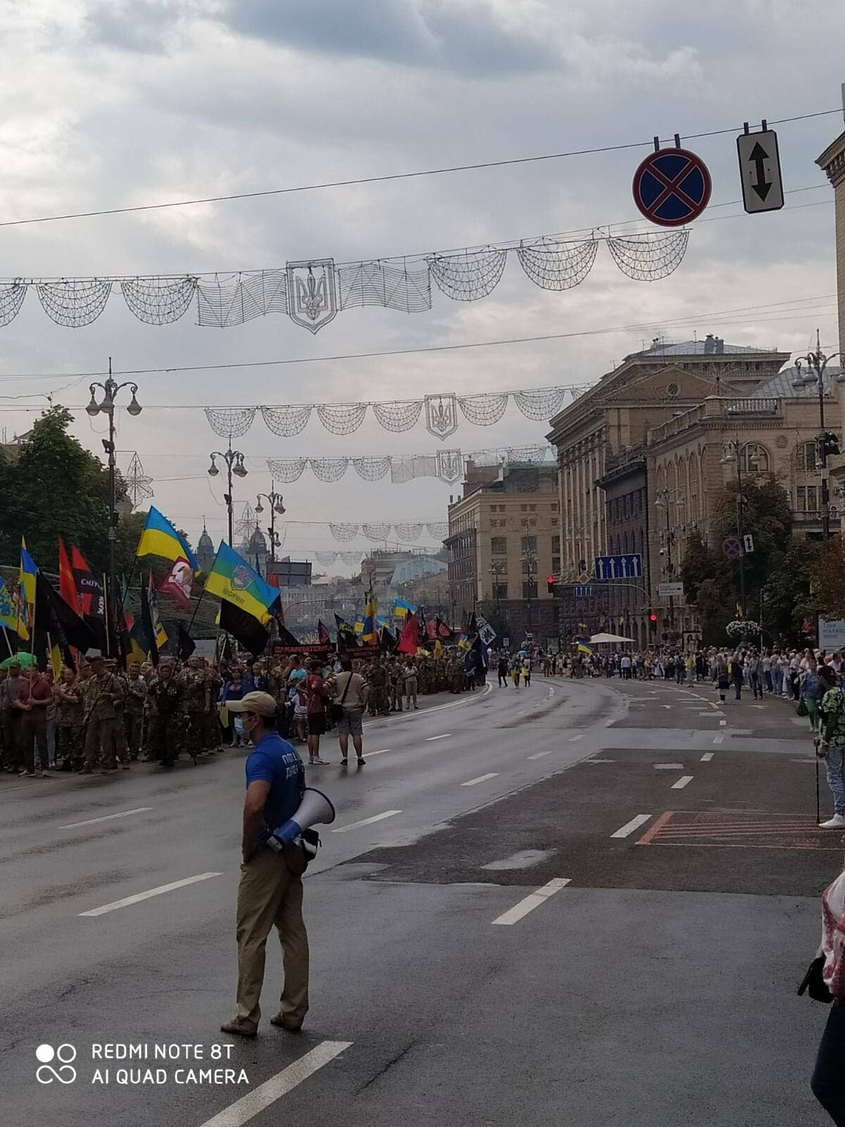 В Києві пройшов Марш захисників України (ФОТО, ВІДЕО), фото-2