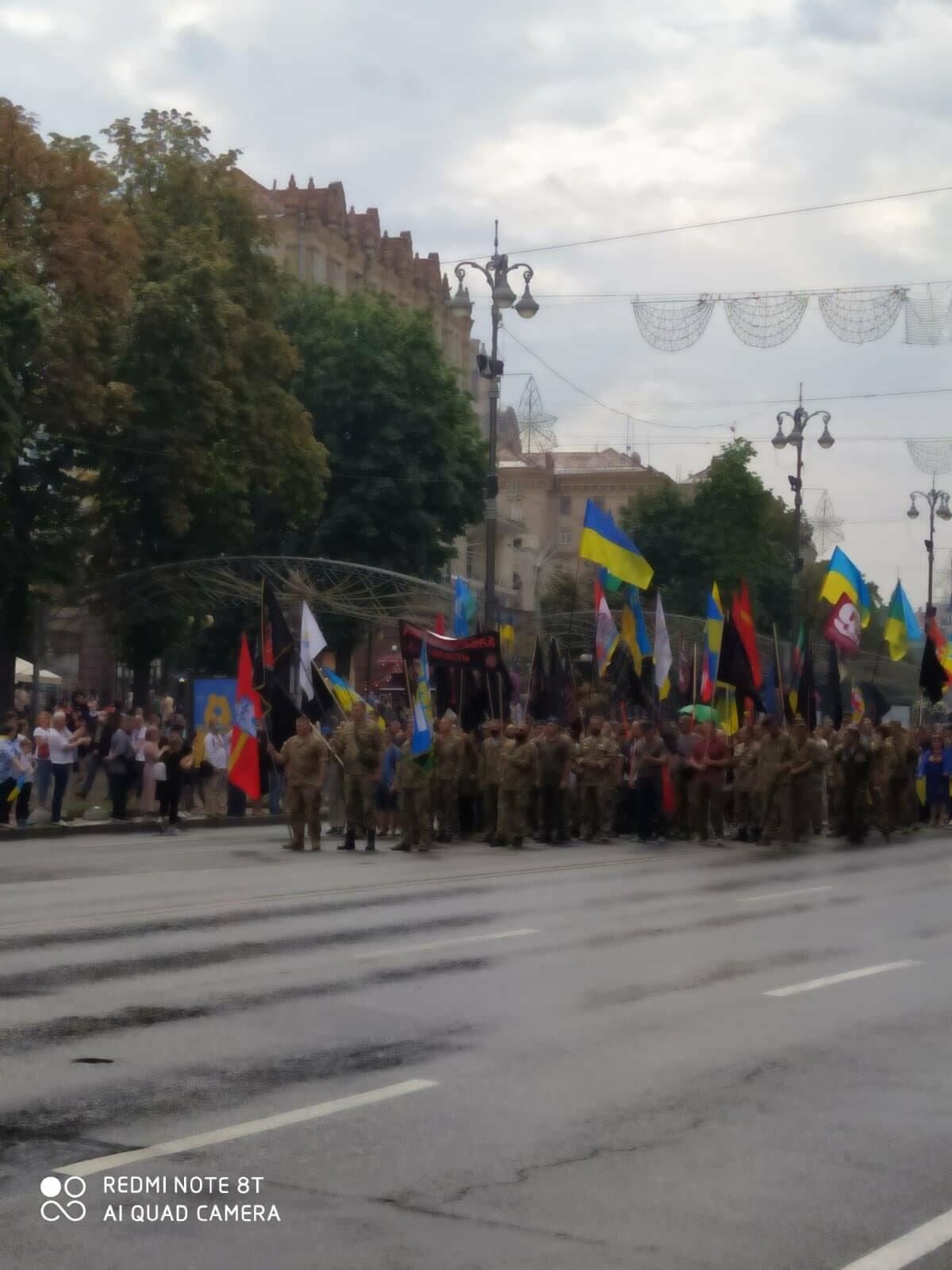 В Києві пройшов Марш захисників України (ФОТО, ВІДЕО), фото-3