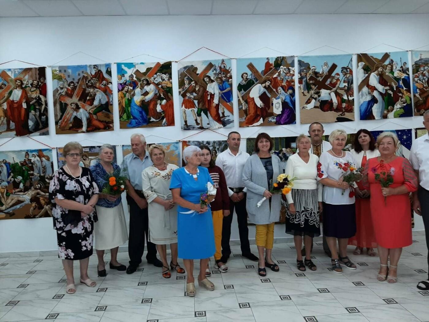У Модричах відкрили виставку вишиваних робіт Степана Бориславського, фото-2