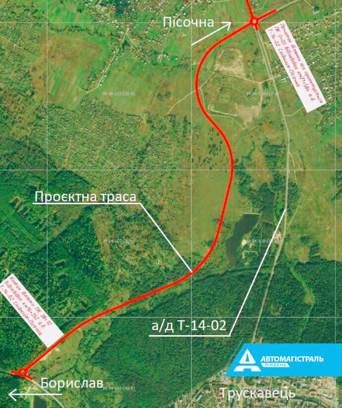 Як проходить будівництво об'їздної Трускавця: 11 захоплюючих фото, фото-1, Автомагістраль-Південь