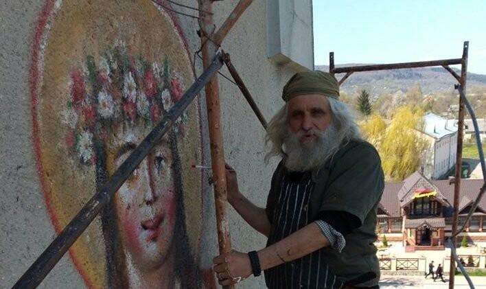 Митець, який створив мурал у Бориславі став партійцем ЄС, фото-1