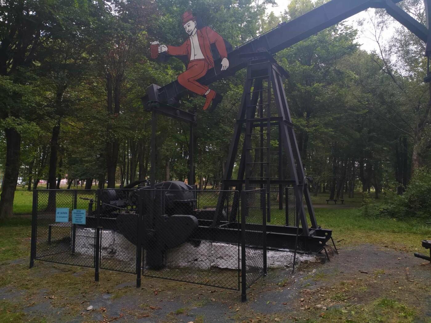 """У Бориславі Роберт Домс і Ян Зег """"осідлали"""" нафтові качалки, фото-4"""