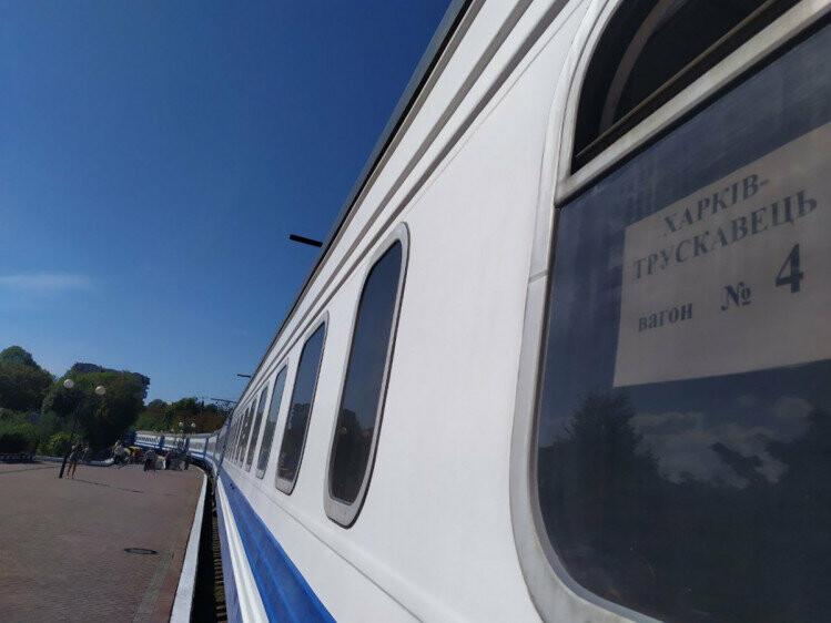 Сьогодні до Трускавця прибув перший потяг з Харкова (ФОТО, ВІДЕО), фото-1