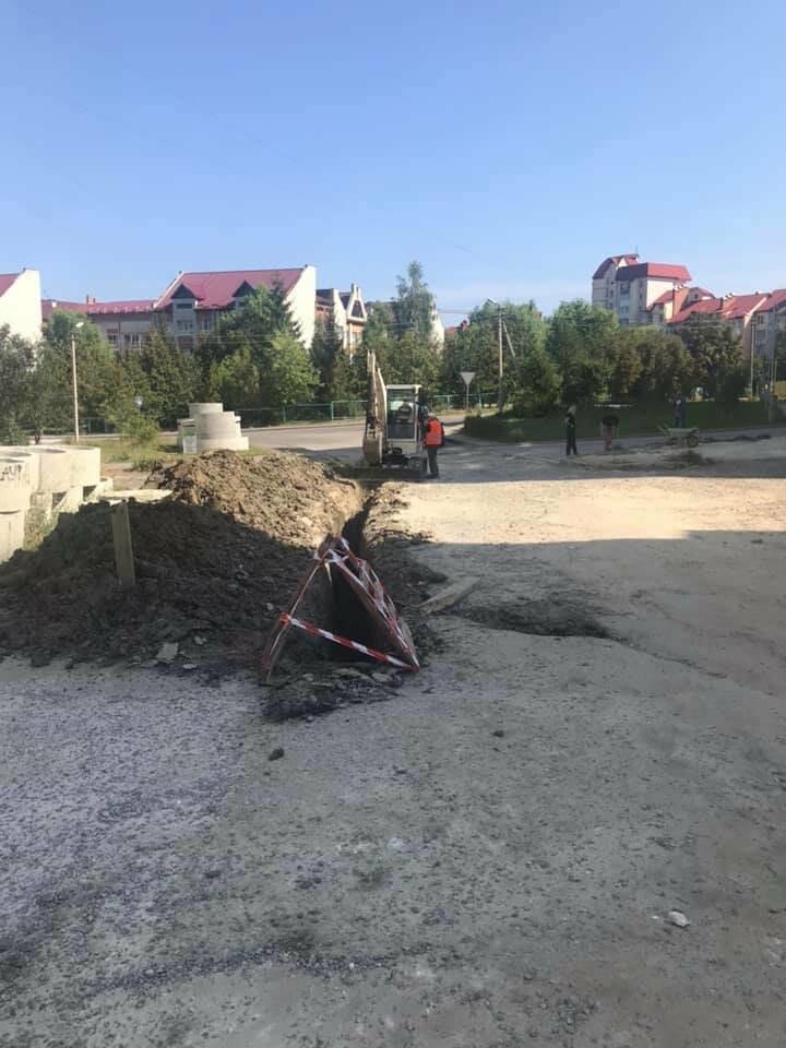 У Трускавці триває капітальний ремонт вулиці Скоропадського (ФОТО), фото-4