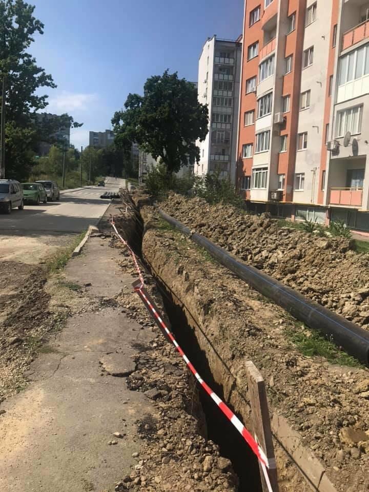 У Трускавці триває капітальний ремонт вулиці Скоропадського (ФОТО), фото-1