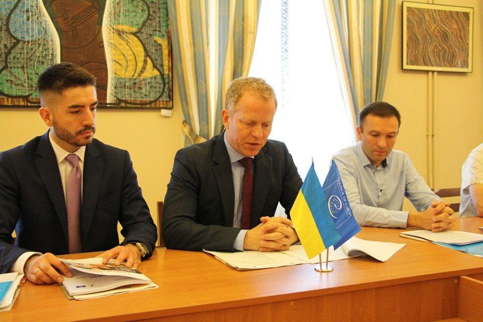 Голова Офісу Ради Європи в Україні Марті Енберг у Дрогобичі, фото-1