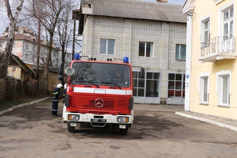 Пожежна машина з Ватлінґену