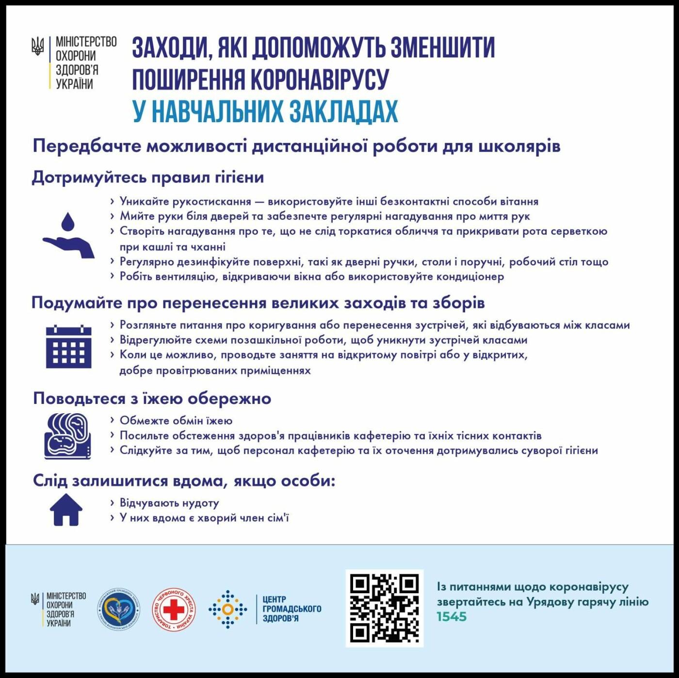 Як зменшити поширення коронавірусу - рекомендації МОЗу, фото-3