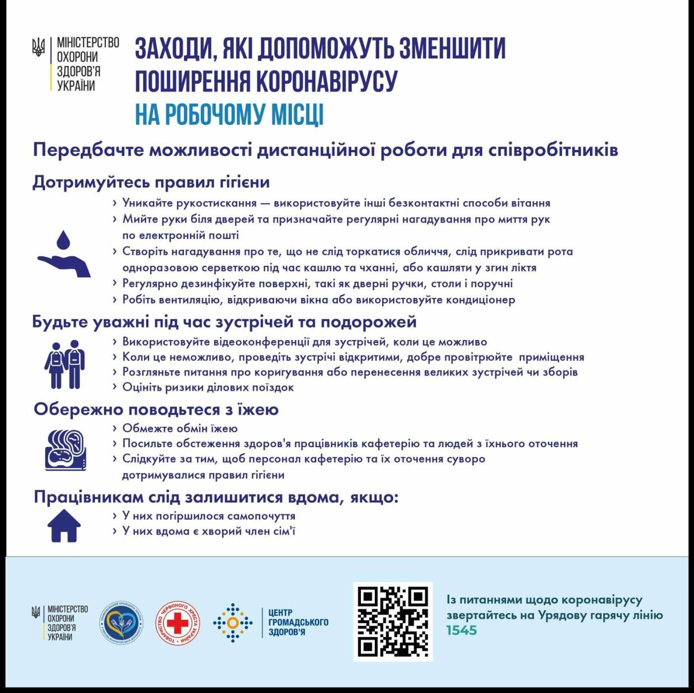 Як зменшити поширення коронавірусу - рекомендації МОЗу, фото-1