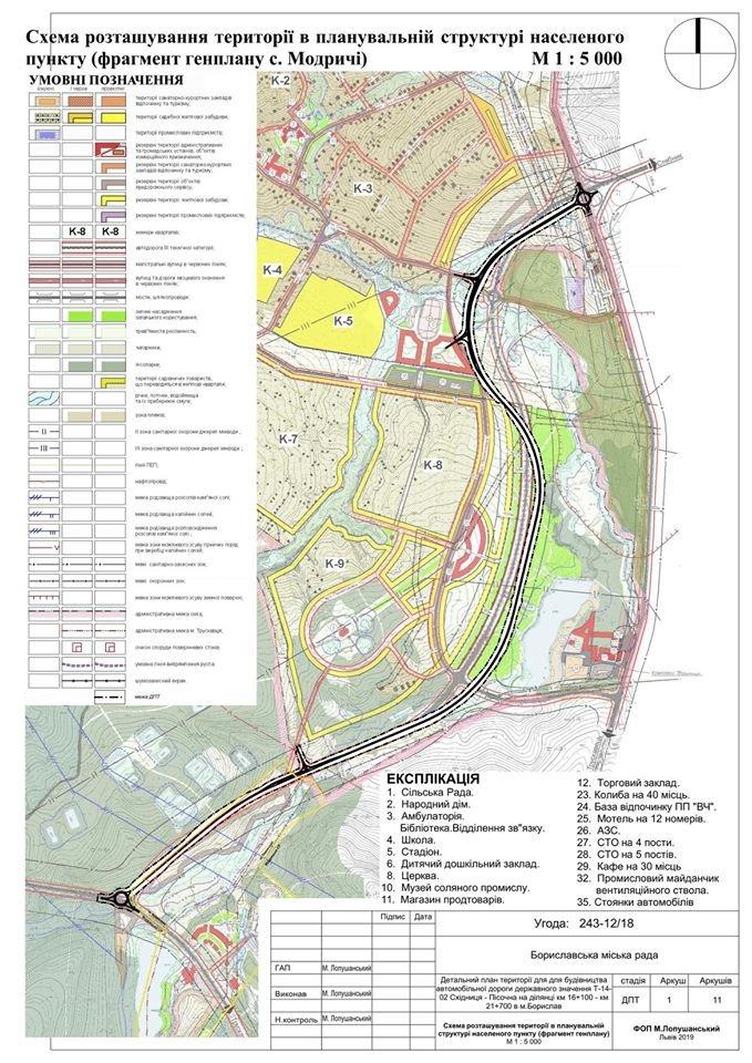 Нова дорога до Трускавця: віддадуть частину бориславської земельної ділянки, фото-2, Фото - Бориславська міська рада