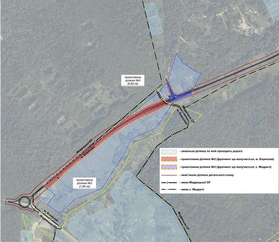 Нова дорога до Трускавця: віддадуть частину бориславської земельної ділянки, фото-1, Фото - Бориславська міська рада