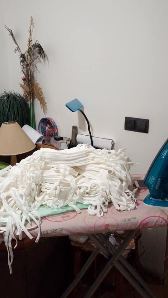 Потрібна допомога: Шиємо маски разом. Дрогобиччина - долучаємось!, фото-2, Фото - Natalija Bihej