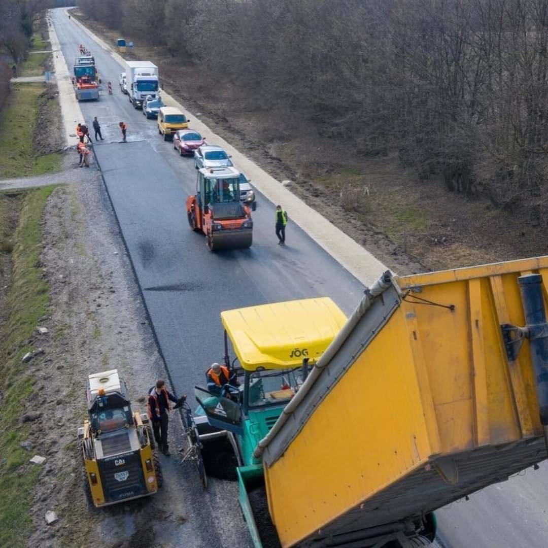 Ремонтують дорогу на Трускавець, фото-2