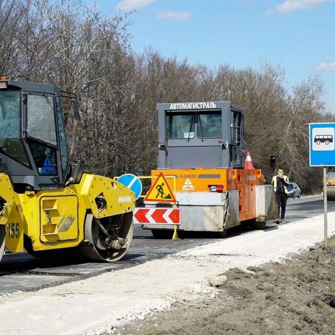 Ремонтують дорогу на Трускавець, фото-1