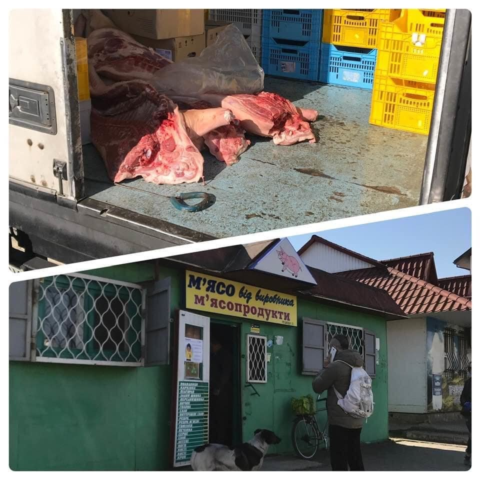 Як у Бориславі продають м'ясо. Просто жах. Фото, фото-1, Фото - Yura Senko