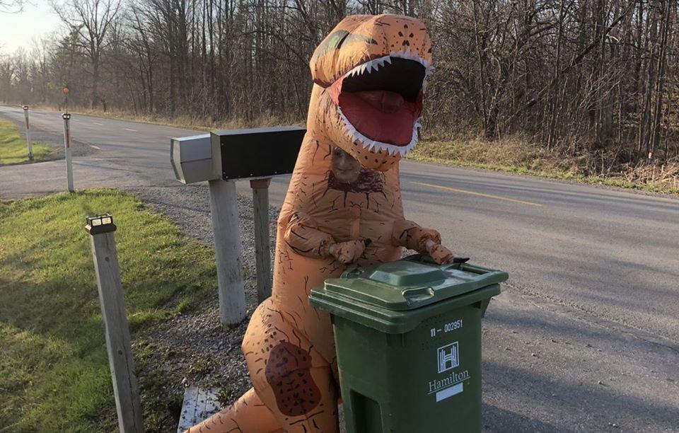Коронавірус в Австралії: мешканці виносять сміття в карнавальних костюмах. Відео, фото-4