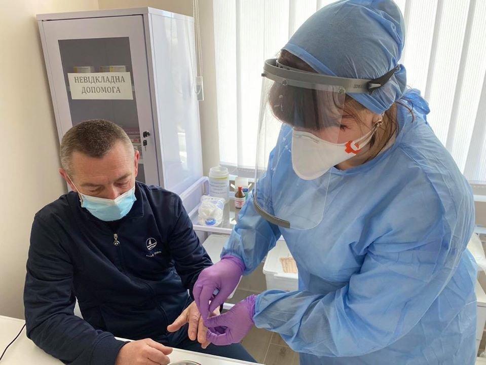 У Трускавці медиків тестують на коронавірус, фото-3, Фото - Трускавецька міська рада