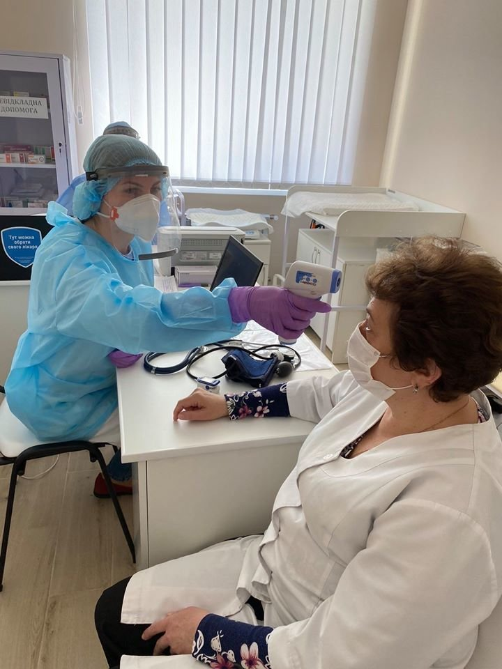 У Трускавці медиків тестують на коронавірус, фото-2, Фото - Трускавецька міська рада