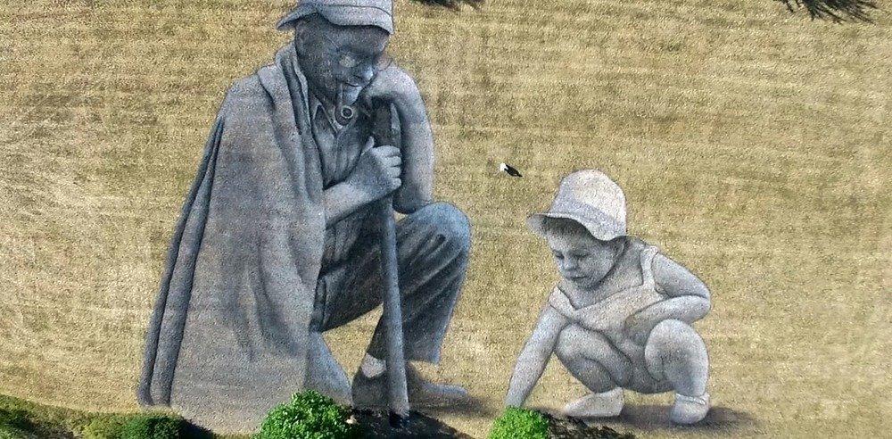 Художник малює біоматеріалом картини площею 3000 кв. м.  Фото вражають, фото-6, Гійом Легро