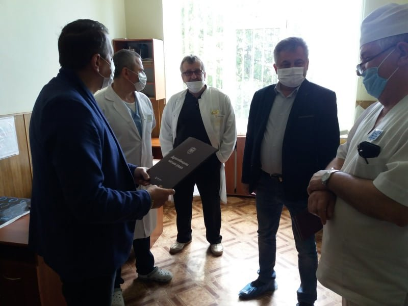 У Дрогобичі медики врятували життя однорічній дитині, котра отримала травму голови, фото-1, Фото - Дрогобицька міська рада