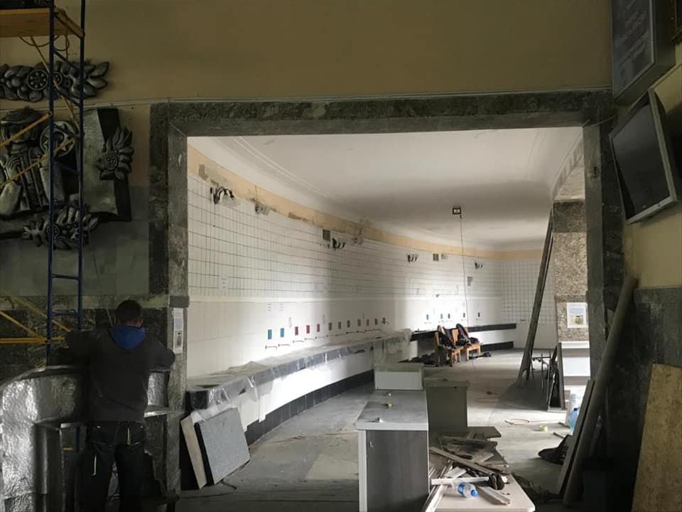 Як змінюється Трускавецький парк? Триває ремонт у бюветі та реконструкція площі. Фото, фото-6, фото - Андрій Кульчинський