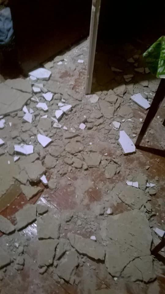 У мешканця Борислава в квартирі обвалилася частина стелі. Фото, фото-4, фото - Ірина Климентьєва