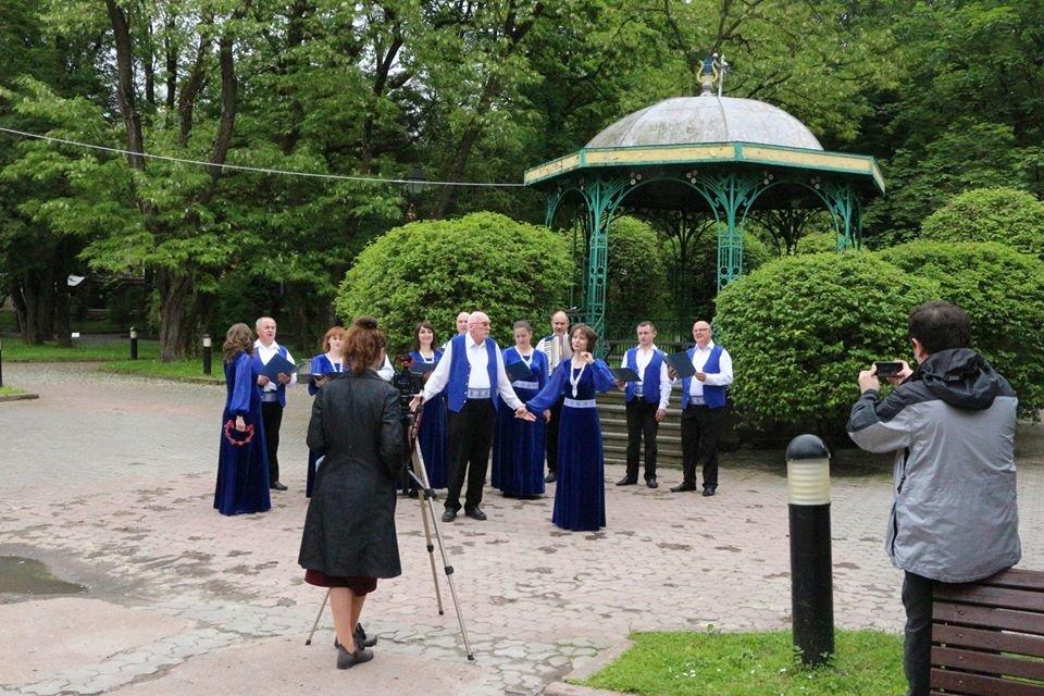 У Трускавці знімають онлайн-концерт до Дня міста, фото-2, фото - Трускавецька міськрада